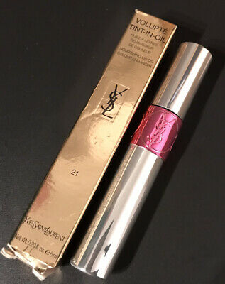 Yves Saint Laurent Volupte Tint In Oil 21 Break My Fuchsia • 5.80£