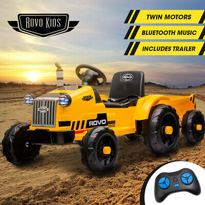AU219 • Buy 【EXTRA10%OFF】ROVO KIDS Ride On Tractor Toy Electric Car Battery Kids