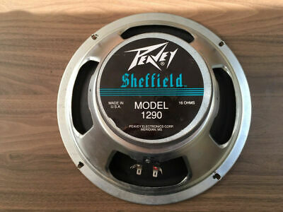 Peavey Sheffield Model 1290 12  Guitar Speakers 16 Ohm - Nice Used Condition(x2) • 50£