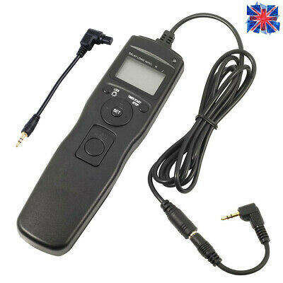 LCD Timer Remote Shutter Release C1 C3 Controller For Canon 650D 750D 1300D 7D • 16.79£