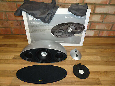 Kef HTC3001SE Silver Centre Speaker - Fully Working & Sounds Great - Boxed Etc • 125£