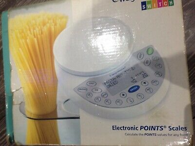 WEIGHT WATCHERS Switch Electronic Points Kitchen Scales Imperial Or Metric • 12£
