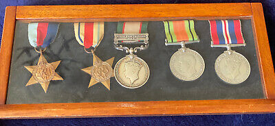 V Scarce Named Medal WW2 Casualty Group - KIA Damascus, Vichy French Campaign • 875£