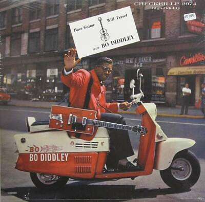 BO DIDDLEY LP , Have Guitar Will Travel (Checker US Issue) • 16.10£