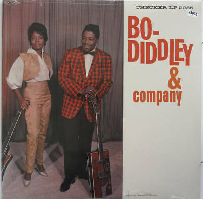 BO DIDDLEY LP, Bo Diddley & Co. (Checker US Issue) • 17.25£