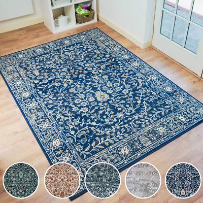 £29.95 • Buy Bravich Traditional Classic Vintage Style Oriental Floral Area Rug Carpet Mat