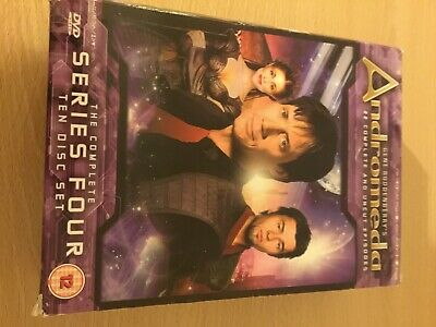 Andromeda The Complete Series 4 - 10 Disc Set! • 4.49£