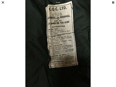 Genuine Vintage British Army 58 Pattern Military Down Mummy Bivi Sleeping Bag A1 • 20£