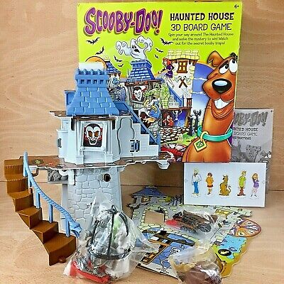 Scooby-Doo Haunted House 3D Board Game Seven Towns Complete Most Contents Sealed • 39.99£