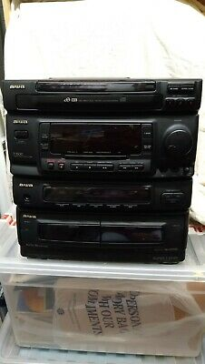 Aiwa Hi -Fi Z-1500 3 CD Player Including Separate Turntable • 15.50£