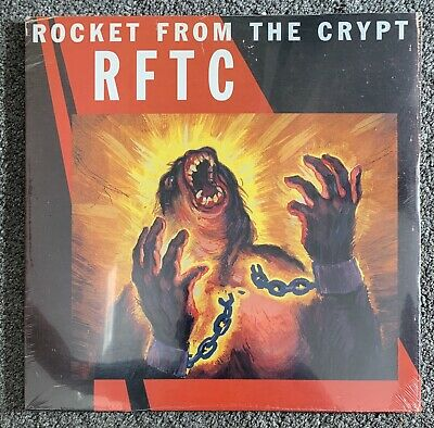 Rocket From The Crypt RFTC 2x Vinyl LP New Sealed • 9.99£