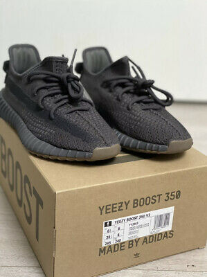 Adidas Yeezy Boost 350 V2 Trainers Sneakers Cinder Size UK6 BNIB Kanye Shoes New • 300£