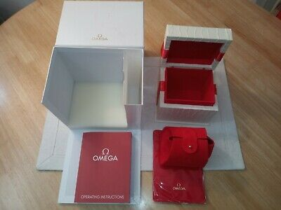 Omega Presentation Box For Ladies Watch Complete  Set • 99.95£