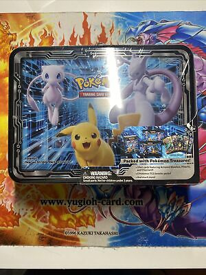 Pokemon Collector's Chest Tin Fall 2019 Armored Mewtwo Charizard Pikachu SEALED • 222.22£