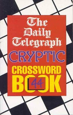 £7.99 • Buy Daily Telegraph Cryptic Crossword Book 44: ... By Telegraph Group Limi Paperback