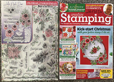 Christmas Clear Rubber Stamps • 1.20£