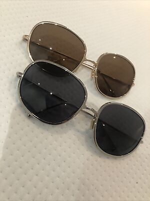 Marc Jacobs Vintage Sunglasses Gold And Silver No Box  • 15£