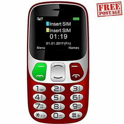 Mobile Senior Phone With Large Numbers, Big Button Mobile Phone For Elderly With • 34.94£