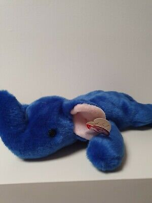Ty Beanie Buddies Peanut The Elephant Excellent  Condition  • 4£