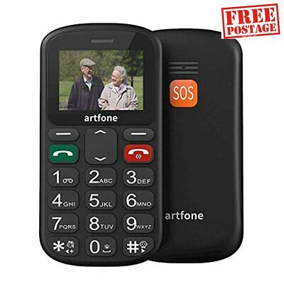 Big Button Mobile Phone, Senior Upgraded GSM Mobile Phone With SOS Button, Talki • 30.23£