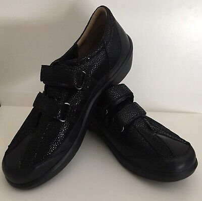 AU55 • Buy Ziera Georgia Shoes Size 41 XW 9.5 -10 Black Comfort NO INSERTS
