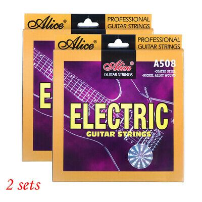 $ CDN12.75 • Buy 2 Sets Alice Electric Guitar Strings 10-46 A508-L 6 Strings Set Replacement