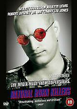 Natural Born Killers DVD (2001) Woody Harrelson, Stone Cert 18 • 1.99£