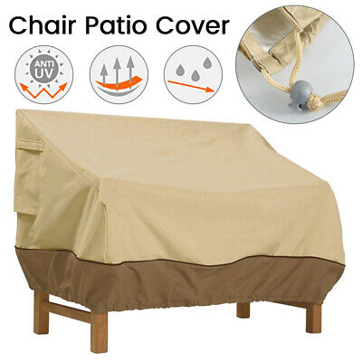 AU27.32 • Buy Patio Chair Cover Lounge Deep Seat Cover Waterproof Outdoor Furniture Cover AU