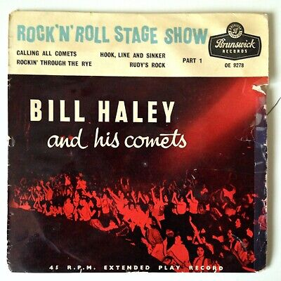 "Bill Haley And His Comets ""Rock 'n' Roll Stage Show Part 1"" Vinyl EP • 3.99£"