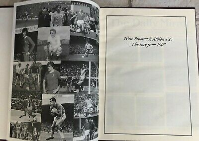 West Bromwich Albion F.C. A History From 1907-2004 Good Condition • 3.99£