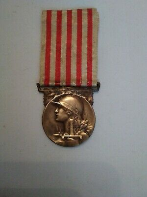 WW1 French Commemorative War Medal. LE GRANDE GUERRE Original Medal  • 7£