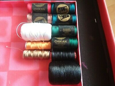 $6.95 • Buy Machine Embroidery Thread , Mixed Lot, Multi Colours Some NEW, Some Used.