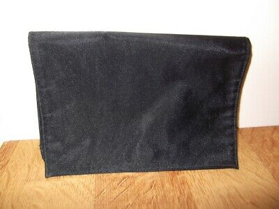 1 X Ysl - Bang Jeun Tri Fold Toiletry Black Bag With Mirror, Bargain Low Start. • 4.99£