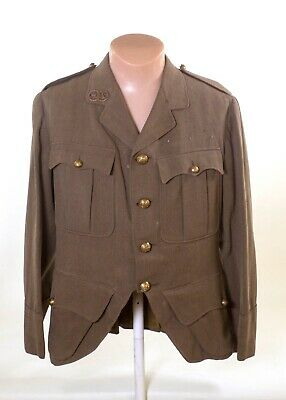 Ww1 Late War Named Argyll & Sutherland  Regiment Cutaway Tunic • 175£