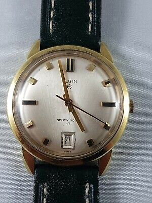 $ CDN150 • Buy Elgin Vintage Automatic Mens Watch , Collector Watch , Working !