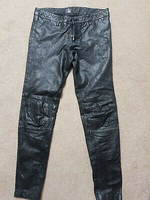 Real Leather Ladies Jeans 8-10 • 22£