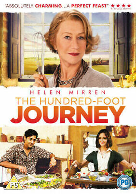 The Hundred-foot Journey DVD 2015 Helen Mirren  Cert PG SUPERB FEEL GOOD COMEDY • 2.15£