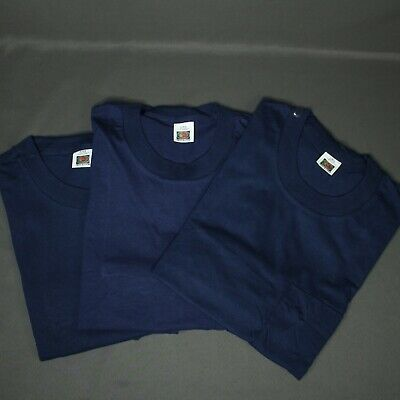 $ CDN58.59 • Buy Vintage Lot Of 3 FRUIT OF THE LOOM POCKET T-SHIRT USA Single Stitch Sz XL NOS