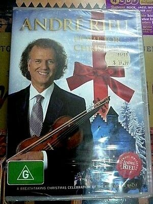 £24.63 • Buy Andre Rieu: Home For Christmas / The Holidays (DVD, 2012) NEW