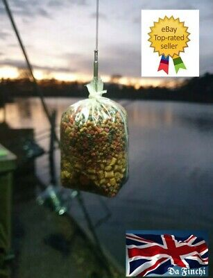 10 Translucent Green Quick Change Solid PVA Bag Stems For Carp Fishing Tackle !! • 7.49£