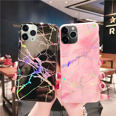 AU12.99 • Buy Marble Shockproof Silicone Case Cover For IPhone 12 Pro Max Mini 11 XS MAX XS XR