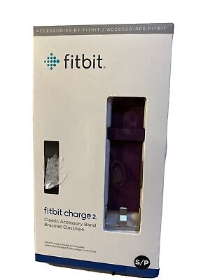 $ CDN5.18 • Buy New, Fitbit Charge 2 Accessory Band, Genuine, Small, Plum, Fast Shipping!