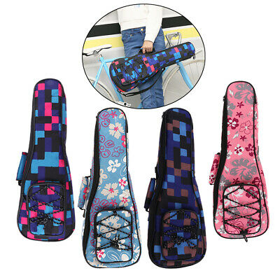 AU19.73 • Buy Ukulele Case Uke Bag - 26inches Adjustable Heavy Duty Padded With Storage For