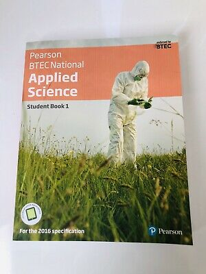 £28 • Buy BTEC Level 3 Nationals Applied Science Student Book 1 By Roy Llewellyn,...