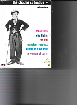 The Charlie Chaplin Collection Vol 2 ( 5 DVD 2003) New & Sealed • 12.99£