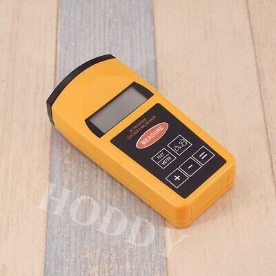 Ultrasonic LCD Sonic Distance Tape Measurer Meter Pointer Measure Range Finder • 15.13£