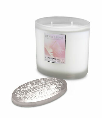 Guardian Angel Fragranced 2 Wick Ellipse Candle From Heart & Home • 12.96£