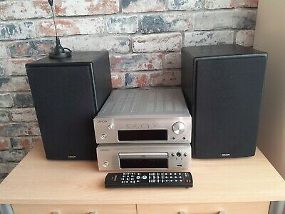 Denon Dra F107 Dab Receiver Plus Dcd F107 Disc Player With Sc107 Speakers . • 160£