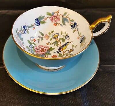 Aynsley Cup And Saucer • 15£