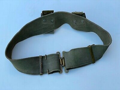 WW1 Original Pattern 1908 Webbing Belt Military British Army Patt 08 Militaria • 40£